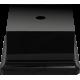 Постамент пластикатовый Черный квадратный