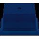 Постамент пластикатовый Синий квадратный