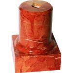 Постамент мрамор круглый RED