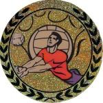 Голограмма самоклеющеася Волейбол AGM17