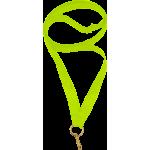 Лента для медали лимонная (салатовая) 11мм
