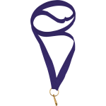 Лента для медали фиолетовая 11мм