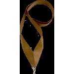 Лента атласная для медали бронза 25 мм