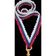 Лента для медали триколор 11 мм