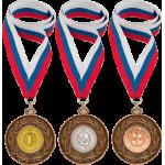 Медали, ленты, эмблемы
