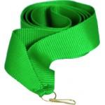 Лента для медали зеленая 11мм