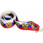 Лента для медали триколор 22 мм с гербом