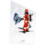 Награда стеклянная Пожарный SG1020/FF